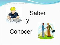 17 best images about saber vs conocer on pinterest spanish activities and the personal. Black Bedroom Furniture Sets. Home Design Ideas
