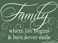~Families Are Forever~