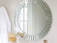 17 best images about bathroom decor on pinterest for Types of bathroom mirrors