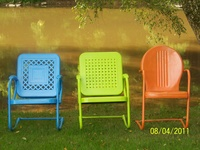 Metal Chairs / Gliders