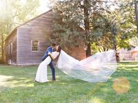 Wedding Photo Opportunities in the Village / Black Creek Pioneer Village is filled with endless photo opportunities! Photo permits can even be purchased just for the day, even if your wedding is being hosted elsewhere!