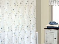 Shower Curtains And Matching Window Treatments Shower Curtain and Matching