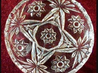 Star of David. Not Waterford, but still pretty. We collect it and love it .