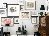 23 ide Menata bingkai foto di dinding | dinding, bingkai ...