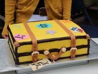 Going away cakes