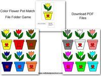Thema bloemen kleuters, lessen en knutselen / Flower theme preschool, lessons and crafts