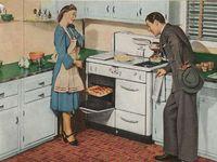 Architecture -- vintage kitchen