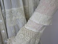 beautiful items made of lace, for the home or fashion