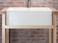 Stand Alone Sinks With Different Stands on Pinterest Utility sink ...