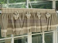 1000 images about cortinas y senefas on pinterest for Mantovane per tende stile country