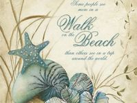 All things beachy... craft ideas, photos, locations