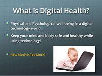 Digital Health and wellness