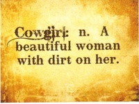 Cowgirl Thoughts
