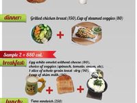 26 800 calorie meal plan ideas | 800 calorie diet, 800 calorie meal ...