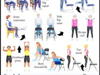 9 best images about senior exercise printable on pinterest