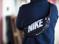 <b>Nike original</b> team training waistpack gym small cycle bag backpack ...