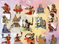 THE LOAS OF HAITI AND THE ORISHAS OF THE YORUBA, SANTERIA & CONDOMBLE RELIGIONS & PRACTITIONERS