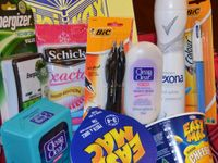 Care packages for long distance loved ones, college kids, special occasions, just because, and for donations.