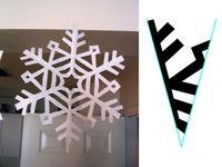 Snowflake template/
