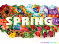 Spring / My spring is from Imbolc to Beltane; February, March and April. The official spring months in Sweden are March, April and May.