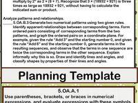 5th grade common core on pinterest teacher planner common core