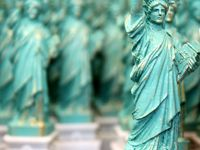 Statuettes of Liberty