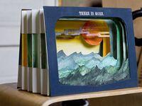 A tunnel book