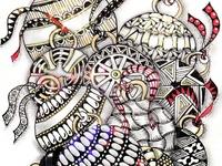 Art: Zentangle Holiday