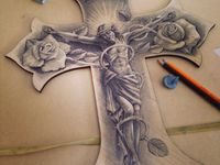 13 best images about religious tatoos on pinterest sword for Warrior bible verse tattoos