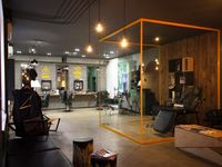 tatoo salon interior