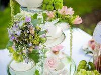 baptême sweet table