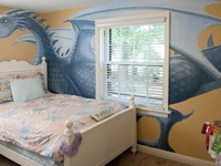 dragon bedroom on Pinterest  How To Train Your, Bedroom Decor and