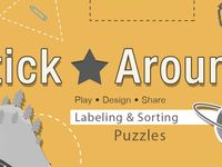 My collection of Stick Around Puzzles for the iPad App by Tony Vincent and Morris Cooke.
