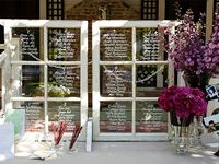 Our favourite seating plans and escort card ideas