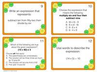 writing algebraic expressions worksheet 5th grade