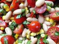... Salad on Pinterest | Salads, Black bean salads and Honey balsamic