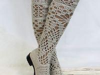 Вязание: одежда, обувь и аксессуары