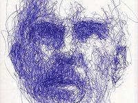 Contour line drawing