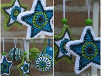 Lovely handmade ornaments
