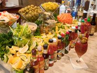 """Party """"Bars"""" ~  unique ways to serve yummy food & drinks!"""
