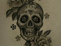 17 best images about tattoos on pinterest sugar skull for Testicle tattoo pictures
