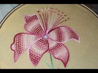 hand embrodery video