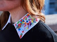 Beads embroidery - collars