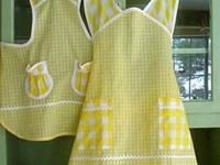 APRONS---WHERE HAVE ALL THE APRONS GONE?