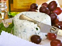 Goat Cheese and Fabulous Homeade Treasures