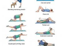Back exercise for pain