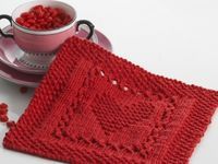 Knitting for the kitchen and bath