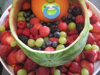 Baby Shower Fruit Tray Ideas