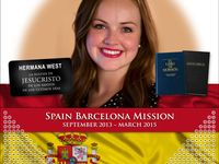 I create personalized missionary posters and countdown calendars featuring your LDS missionary's photo, country or state flag, name tag, favorite scripture, mission name, service dates, and more! Visit www.missionaryposters.com.
