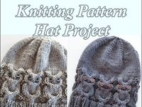 knitting, embroidery, quilting